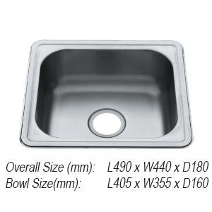 Sink 3. SLX-610 Rubine