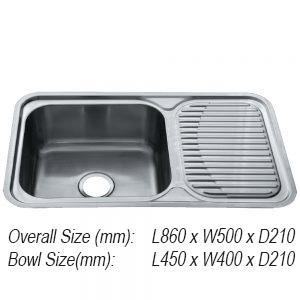 Sink 5. JUX-611 Rubine