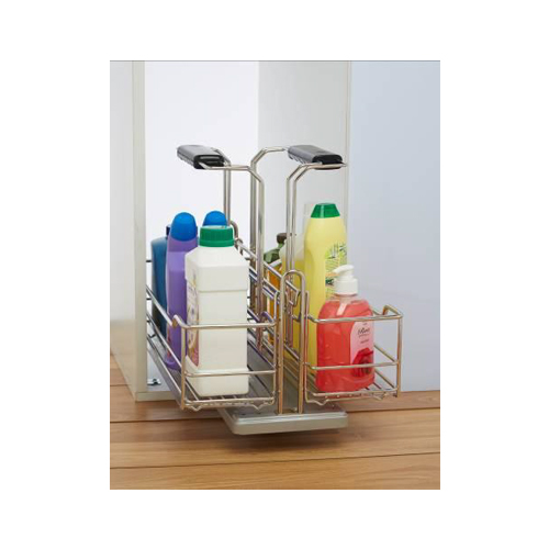 Removable Under Sink Pull-out Basket w Soft-Close GE-020 Stainless Steel